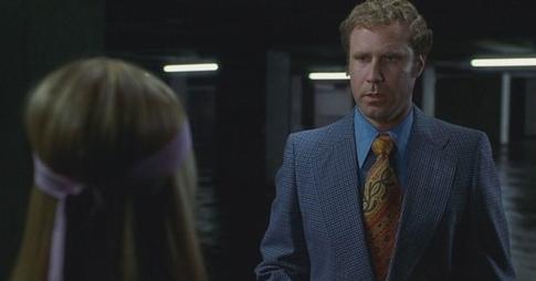 Will Ferrell as the ever-suspicious Bob Woodward.