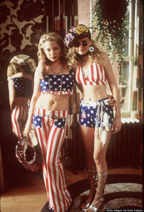 Patriotic teens Williams and Dunst (Columbia Pictures/Phoenix Pictures)
