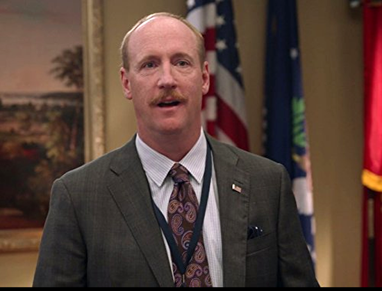 "Matt Walsh's portrayal of an incompetent press secretary in ""Veep"" brings unplanned timely weight to the art-imitates-life argument."