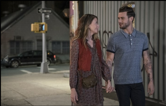 "In ""Younger,"" Sutton Foster balances truth and exageration in her relationship with Nico Tortorella."