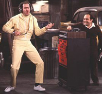 Andy Kaufman, Danny DeVito from Taxi