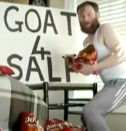 Doritos goat SuperBowl